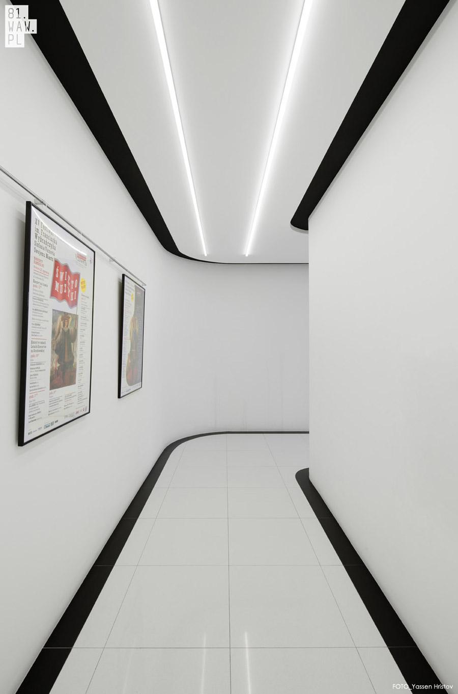 Klub studencki GAMA w Warszawie. Projekt wnętrz: 81.WAW.PL