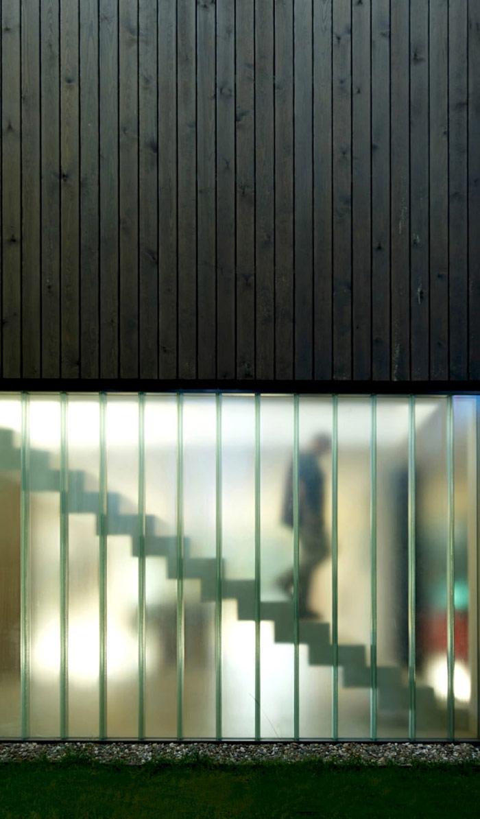 Dom Tetris w Bukownie. Projekt: Kameleonlab. Zdjęcie: Tomasz Zakrzewski