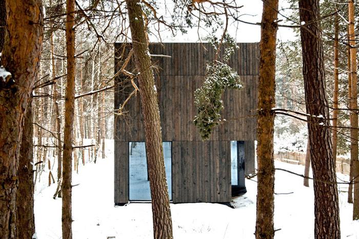 Dom Tetris w Bukownie. Projekt: Kameleonlab. Zdjęcie: Tomasz Woźniczka