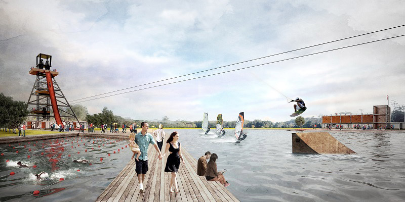 Rewitalizacja wybranych obszarów Łęczycy. Projekt: Nizio Design International