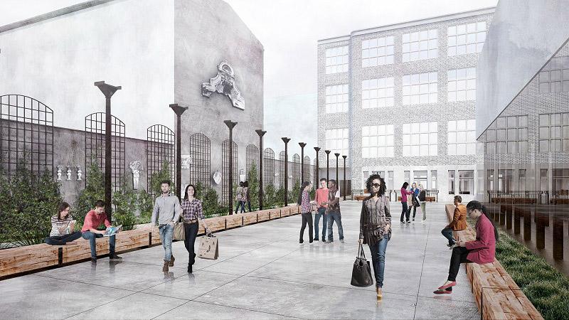 Lapidarium Detalu. Projekt: Nizio Design International