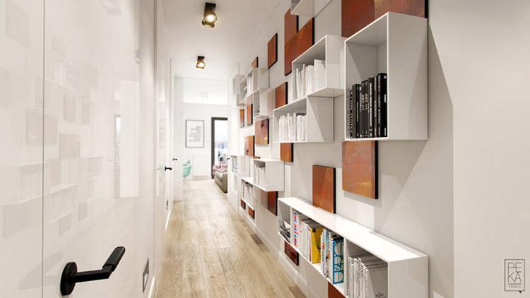 Wnętrza apartamentu. Projekt: PEKA Studio