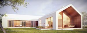 Dom Biały pracowni Z3Z Architekci