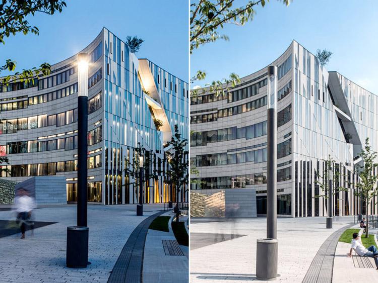 Centrum Handlowe Kö-Bogen w Düsseldorfie. Projekt: Studio Libeskind | Daniel Libeskind
