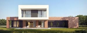 Dom w Bojanie projektu pracowni JPP Architekci