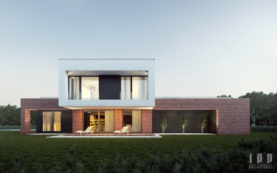 Dom w Bojanie. Projekt: JPP Architekci