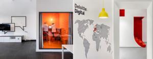 Biura Deloitte Digital w Łodzi projektu Libido Architekci
