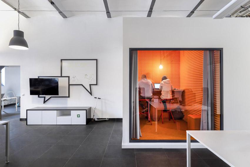 Biura Deloitte Digital w Łodzi. Projekt wnętrz: Libido Architekci