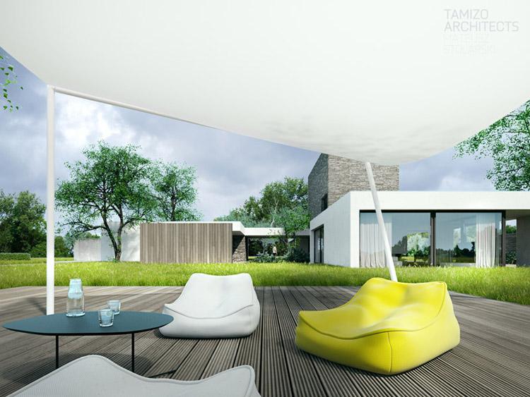 Dom z wieżą. Projekt: Tamizo Architects Mateusz Stolarski