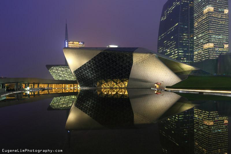 Guangzhou Opera House. Projekt: Zaha Hadid Architects