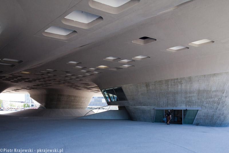 Centrum Nauki Phæno Phæno Science Center, Wolfsburg. Projekt: Zaha Hadid Architects. Zdjęcie: Piotr Krajewski