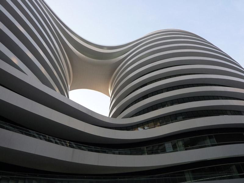 Galaxy Soho. Projekt: Zaha Hadid Architects