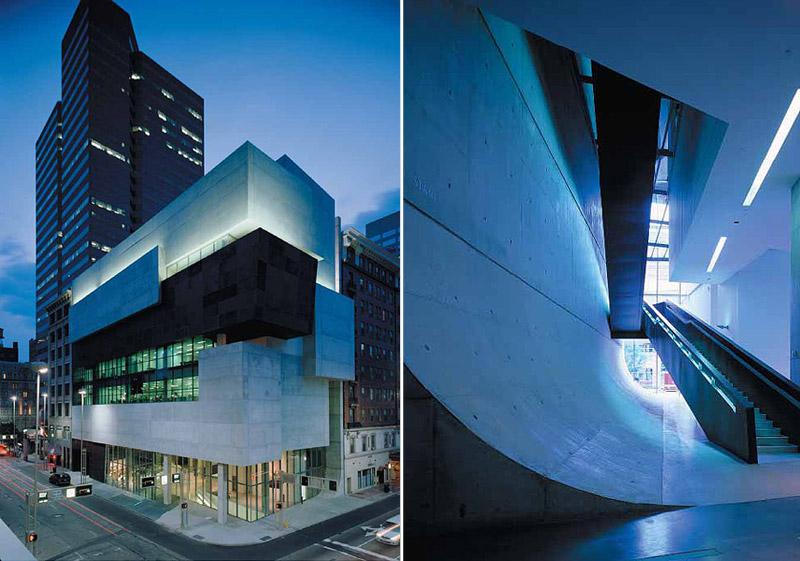 The Richard and Lois Rosenthal Center for Contemporary Art, Cincinnati. Projekt: Zaha Hadid Architects