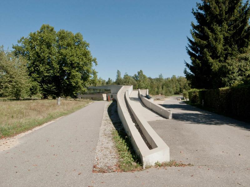 Pawilon Landscape Formation One, Weil am Rhein. Projekt: Zaha Hadid Architects