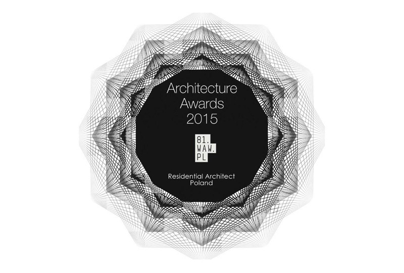 Pracownia 81.WAW.PL z nagrodą Residential Architect of the Year 2015