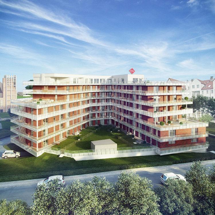 Osiedle Stara Odra Residence II we Wrocławiu. Projekt: AP Szczepaniak