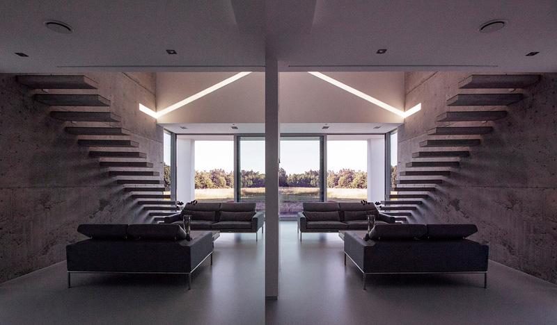 Eko-Dom w Dzikowcu. Projekt: BXBstudio Bogusław Barnaś