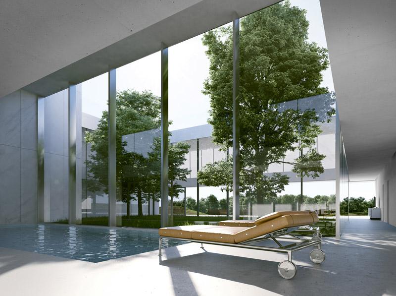 """Projekt domu pod Londynem - I Nagroda w konkursie """"Design a Beautiful House"""". Autorzy: Autor: Maciej Grelewicz, Anna Orłowska"""