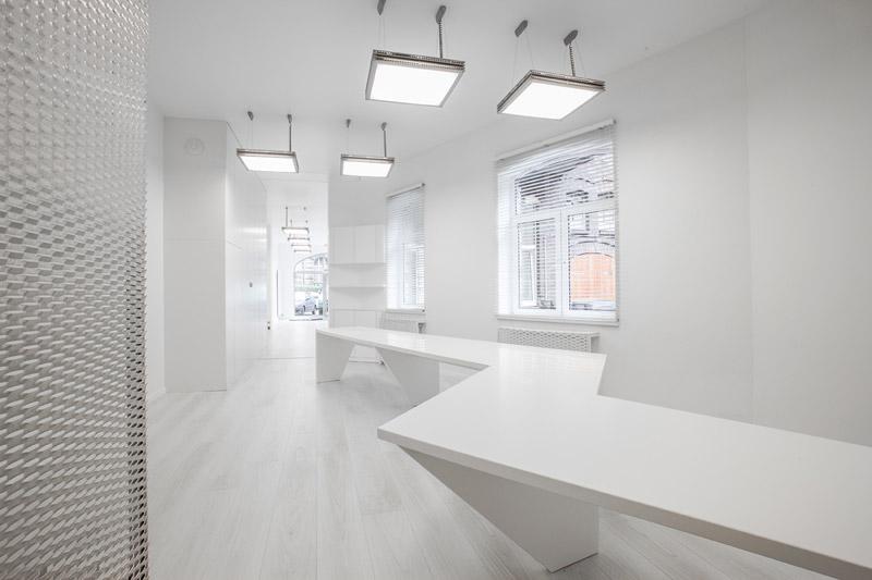 Wnętrza biur BLANCO w w Gliwicach. Projekt: Kliff Design