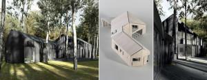 Dom między brzozami projektu pracowni TEŻ ARCHITEKCI