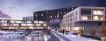 Dyplomy Architektury: Budynek wielofunkcyjny z przystanią projektu Tomasza Urbanowicza