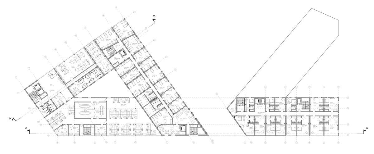Dyplomy Architektury: Budynek wielofunkcyjny wraz z przystanią na Młodym Mieście w Gdańsku. Autor: Tomasz Urbanowicz