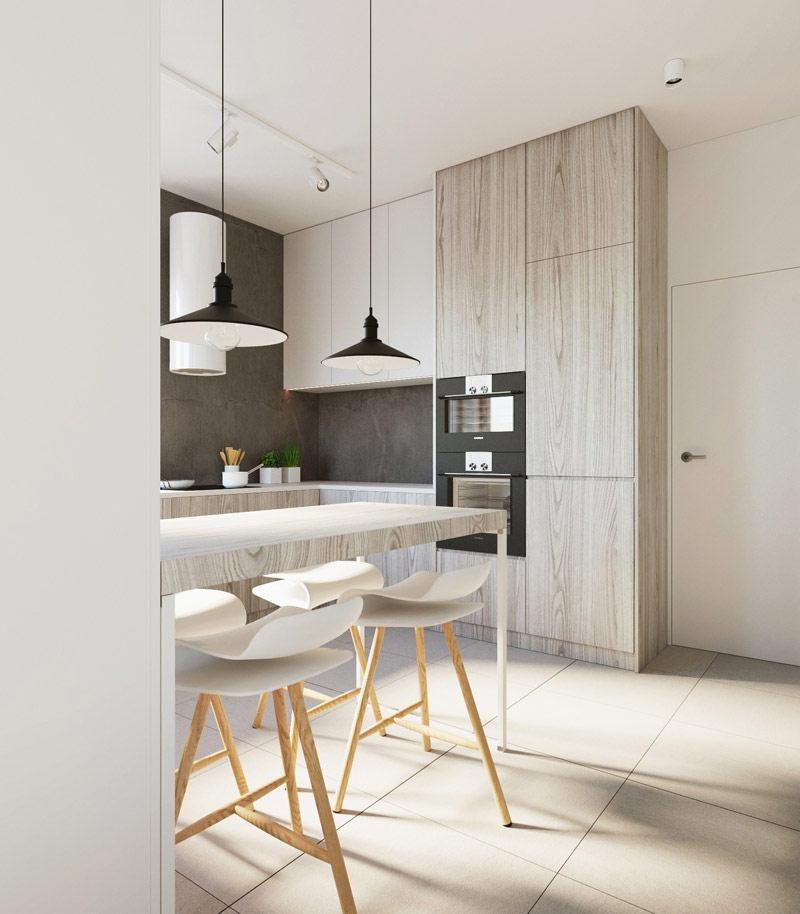 Projekt wnętrz mieszkania w Lublinie. Autorzy: 081 Architekci