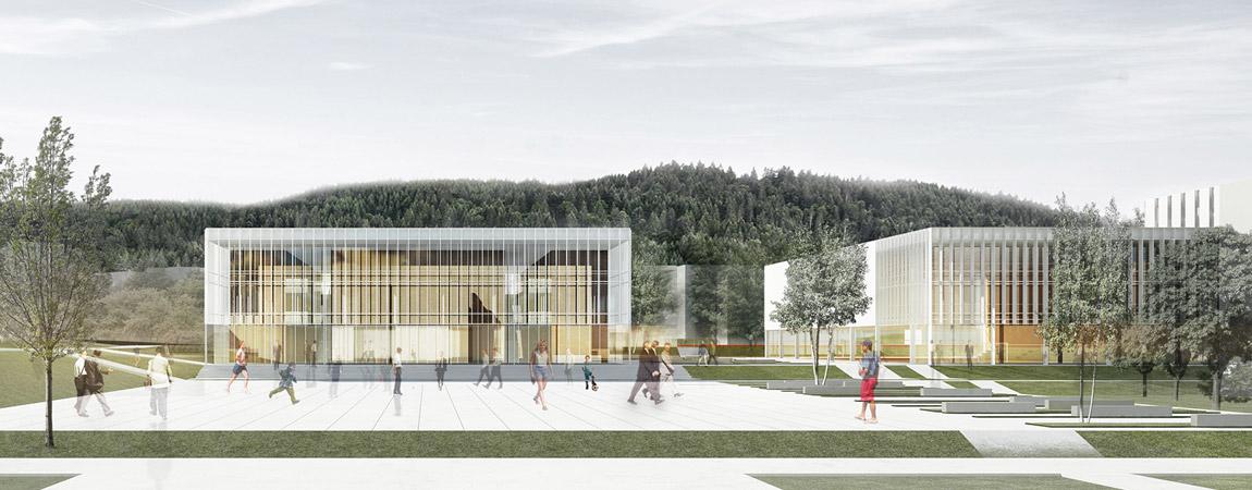 Rozbudowa Kampusu Akademii Morskiej w Gdyni. II nagroda w konkursie: Dec Wolszczak Architekci