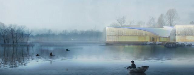 Dyplomy Architektury: Szczecińskie Centrum Kultury Nordyckiej projektu Katarzyny Florysiak