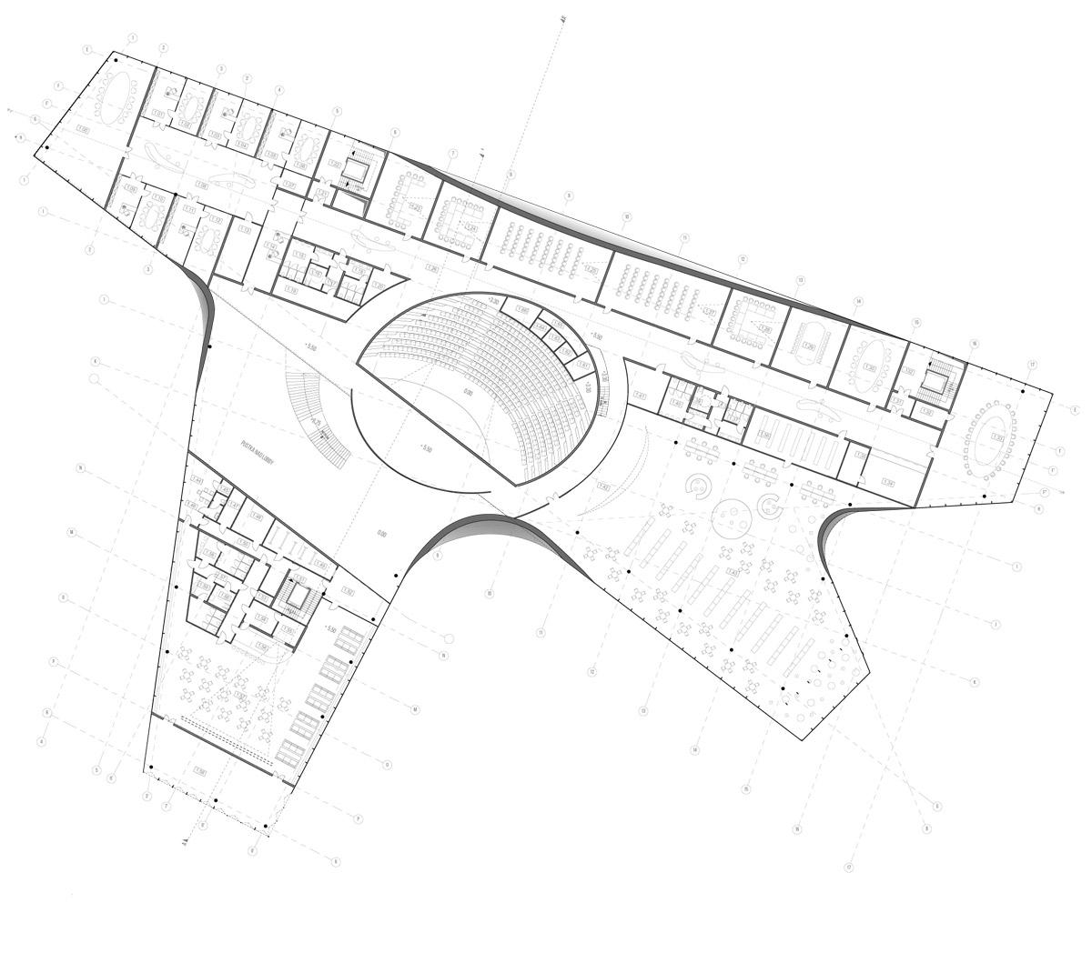 Dyplomy Architektury: Szczecińskie Centrum Kultury Nordyckiej. Projekt: Katarzyna Florysiak