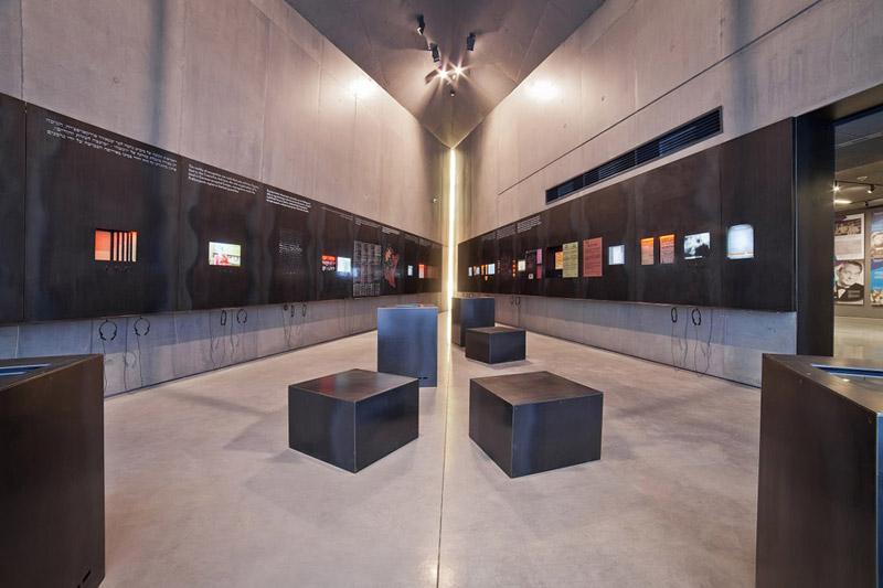 Muzeum Polaków ratujących Żydów w Markowej. Projekt: Nizio Design International