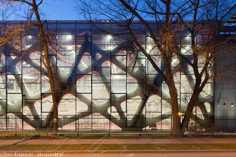 Centrum Sportowo-Rehabilitacyjne WUM w Warszawie. Projekt: Kontrapunkt V-Projekt. Zdjęcia: Piotr Krajewski