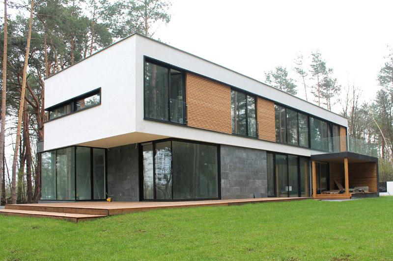 Dom w Sękocinie. Projekt: Z3Z ARCHITEKCI | Mateusz Zajkowski