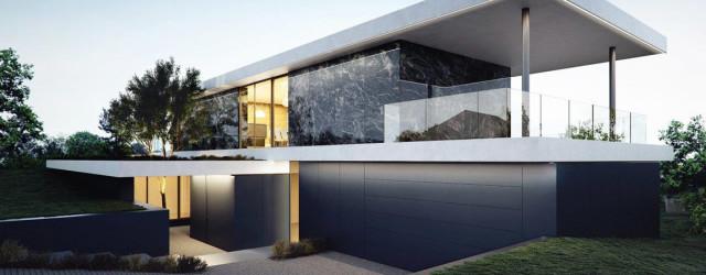 Nawiązujący do modernizmu Dom Pawilon projektu pracowni 81.WAW.PL