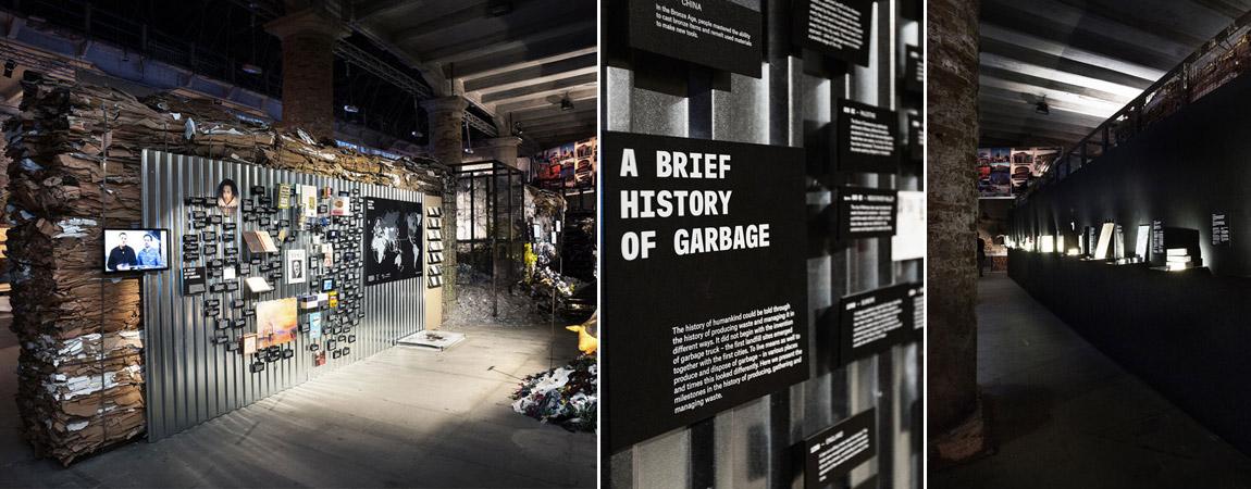 Projekt Let's talk about garbage - Biennale Architektury w Wenecji. Zdj. Marco Magoga