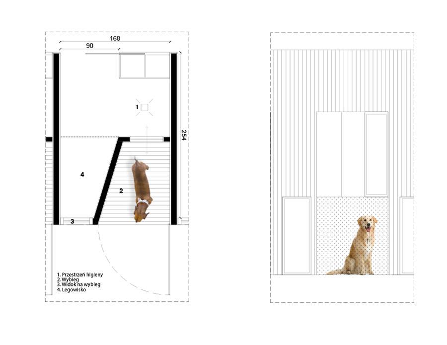Hotel dla zwierząt. Projekt: ddArchitekci