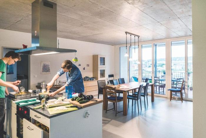 Cluster House, Zurich, Szwajcaria. Projekt: Duplex Architekten AG