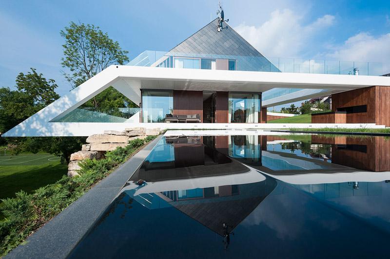 Edge House w Krakowie. Projekt: Mobius Architekci. Zdjęcie: Mobius Architekci