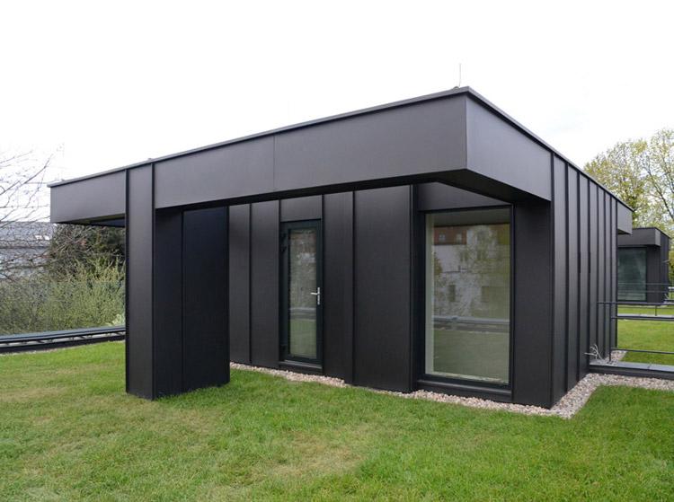 Dom na Czereśniowej 9 - Czterorodzinny budynek mieszkalny w Warszawie. Projekt: Paweł Lis Architekci