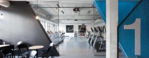Klub sportowy nie musi być nudny! Wnętrza klubu Adrenalina Fitness projektu studia Spacelab