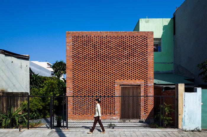Termitary House, Da Nang, Wietnam. Projekt: Tropical Space