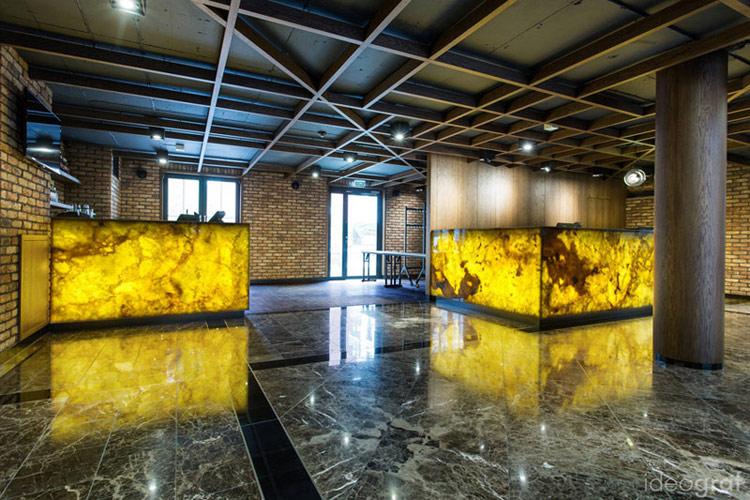 Wnętrza Hotelu Almond w Gdańsku. Projekt: Biuro Architektoniczne Ideograf | Paulina Czurak. Zdjęcie: TNS Studio