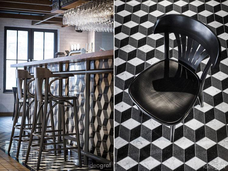 Wnętrza Hotelu Almond w Gdańsku. Projekt: Biuro Architektoniczne Ideograf | Paulina Czurak. Zdjęcia: TNS Studio