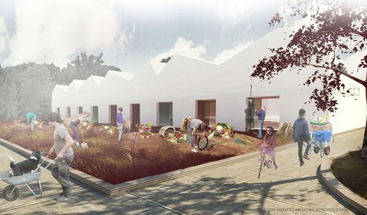 Projekt studencki Minimal Modular Comfort Houses. Opracowały: Joanna Machera oraz Anna Toborek