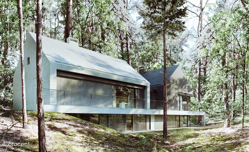 Dom W. Projekt: STOPROCENT Architekci