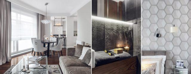 Mieszkanie dla starszych osób – eleganckie wnętrza projektu biura JT Grupa