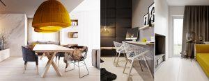Połączenie minimalizmu i skandynawskiego klimatu we wnętrzach domu projektu KUOO/ARCHITECTS