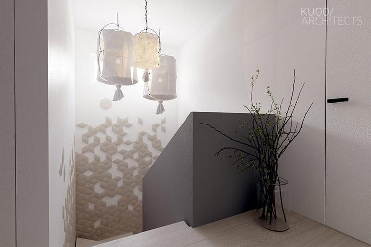 Wnętrza domu jednorodzinnego w Łodzi. Projekt: KUOO/ARCHITECTS