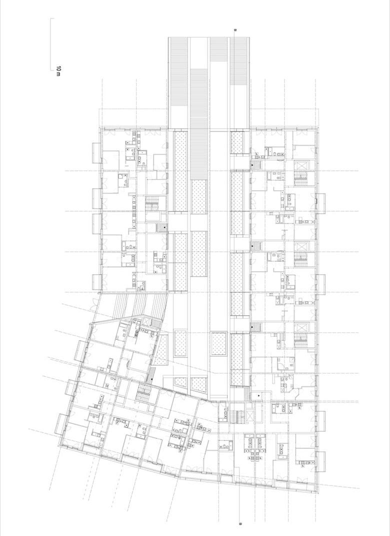 Budynek mieszkalno-usługowy Kurkowa 14, Wrocław. Projekt: Maćków Pracownia Projektowa