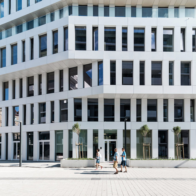 Budynek biurowy Dubois 14, Wrocław. Projekt: Maćków Pracownia Projektowa, Zdj. Maciej Lulko